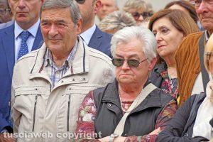 Viterbo - I funerali del giudice Alessandro Pascolini