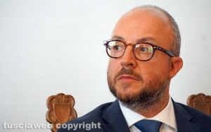 Viterbo - Il deputato Mauro Rotelli