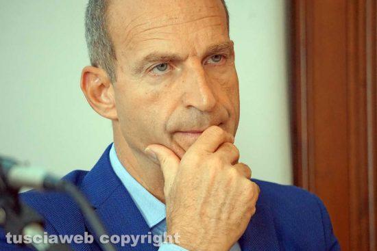 Viterbo - L'assessore regionale Claudio di Berardino