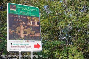 Soriano nel Cimino - La strada che porta alla Torre di Pasolini
