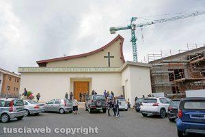 Viterbo - La chiesa di Villanova