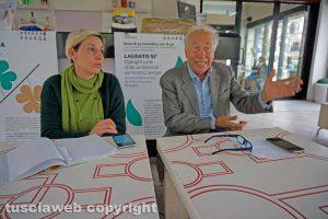 Viterbo - Sandra Gasbarri e Famiano Crucianelli