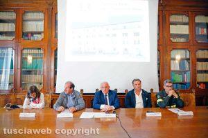 Viterbo - La riunione in prefettura