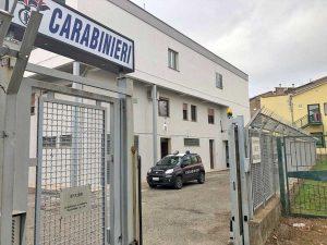 La stazione dei carabinieri di Carbognano