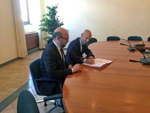 Viterbo - Siglato l'accordo Unitus – Universidade Federal do Paranà