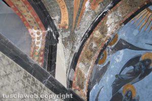Viterbo - Cimitero - La chiesa di San Lazzaro - Gli affreschi di Pietro Vanni