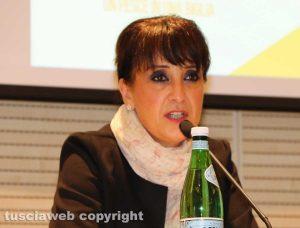 Viterbo - Maria Elena Piferi dell'associazione Donna Olimpia