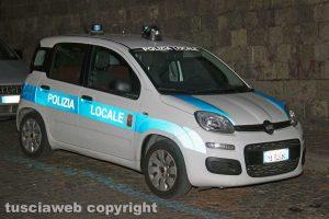 Viterbo - Polizia locale in centro