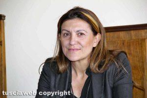 L'assessora allo Sviluppo Economico Alessia Mancini