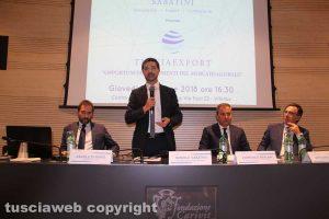 """L'incontro """"Opportunità e strumenti del mercato globale"""" - Di Mario, Sabatini, Merlani e Olivieri"""