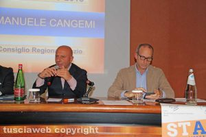 Viterbo - Il meeting dei consulenti del lavoro - Giuseppe Cangemi e Claudio Di Berardino