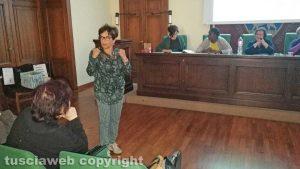 Elvira Federici all'incontro di Nonunadimeno