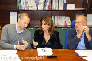 Viterbo - Comune - Terza commissione - Purchiaroni, Allegrini e Gai