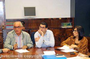 Viterbo - Comune - Terza commissione - Ricci, Barelli e Notaristefano