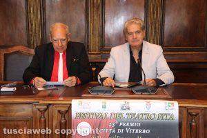 Viterbo - Comune - Bruno Mencarelli e Giovanni Arena