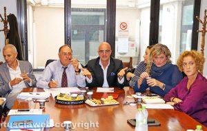 Viterbo - Comune - Quarta commissione - Caporossi festeggia il compleanno