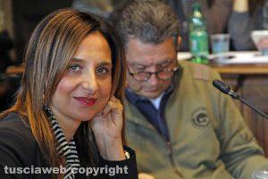 Viterbo - La consigliera Paola Bugiotti