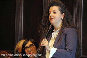Viterbo - La consigliera Chiara Frontini