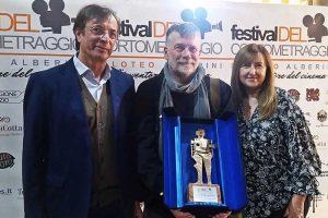 Orte - Alessandro D'Alatri riceve il premio Filoteo Alberini