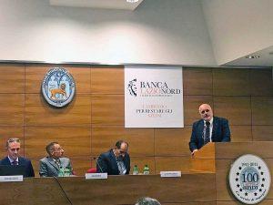 Viterbo - Stefano Signori alla presentazione di Banca Lazio Nord