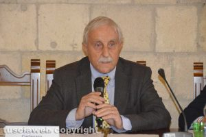 L'avvocato Antonio Maria Carlevaro