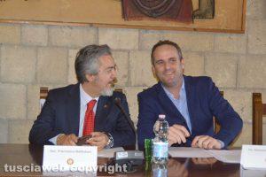Il senatore Battistoni e il deputato Battilocchio