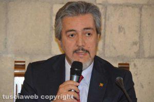 Il senatore Francesco Battistoni
