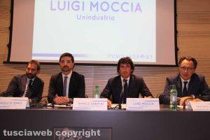 """L'incontro """"Opportunità e strumenti del mercato globale"""" - Di Mario, Sabatini, Moccia e Olivieri"""