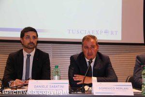 """L'incontro """"Opportunità e strumenti del mercato globale"""" - Sabatini e Merlani"""
