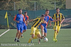 Sport - Calcio - Viterbese - Il match con l'Orvietana