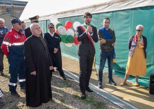 L'inaugurazione della palestra di Bassano Romano