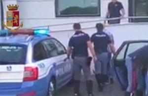 Polizia stradale - Inseguimento in autostrada