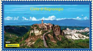 """Il tour filatelico """"I borghi più belli d'Italia"""" fa tappa a Civita di Bagnoregio"""