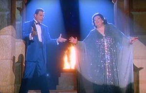 "Freddie Mercury e Montserrat Caballé in ""Barcelona"""