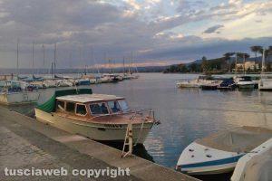 Bolsena - Un tramonto sul lago