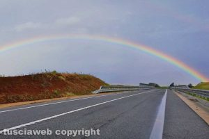 Viterbo - Il ponte dell'arcobaleno
