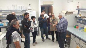 Tarquinia - Il professor Nascetti al Centro ittiogenico sperimentale dell'Unitus