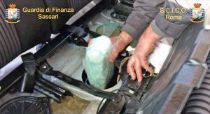 Narcotraffico, operazione Napaho della Guardia di finanza - La droga sequestrata
