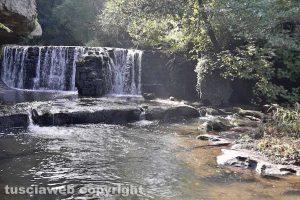 Bomarzo - Le cascate di Fosso Castello