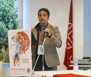 Marco Nati, segretario generale della Flai Cgil Civitavecchia Roma Nord Viterbo