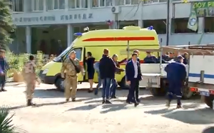 Crimea - Bomba in una scuola di Kerch