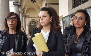 Chiara Frontini - 100 giorni di Arena - La conferenza stampa