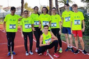 Sport - Atletica leggera - Gli atleti della Finass ai Regionali di staffette