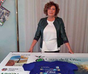 Canino - Camminata tra gli olivi - La sindaca Lina Novelli