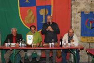 Viterbo - Al Panathlon club una serata dedicata allo sport della ruzzola