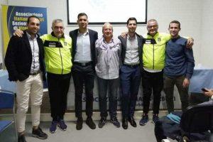 Sport - Calcio - Aia - Ceccarelli e Coppetelli in visita alla sezione di Viterbo