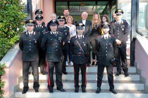 Bolsena - La visita di monsignor Tuzia ai carabinieri
