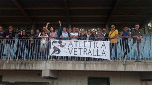 Sport - La tifoseria dell'Atletica Vetralla