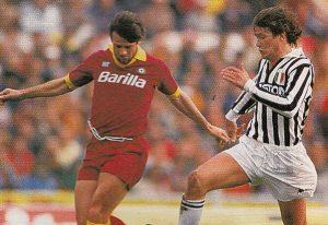 Sport - Calcio - Serie A 1986-87 - Sebastiano Nela e Aldo Serena