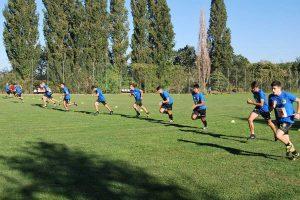 Sport - Calcio - Il raduno precampionato dell'Aia Viterbo